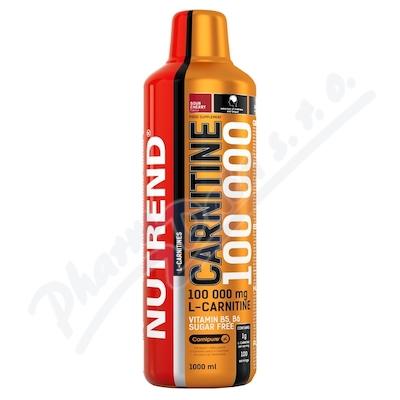 Zobrazit detail - NUTREND Carnitine 100000 višeň 1000ml