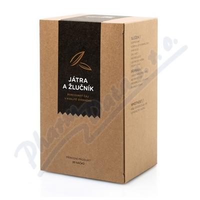 Zobrazit detail - AROMATICA Bylinný čaj Játra a žlučník n. s. 20x2g