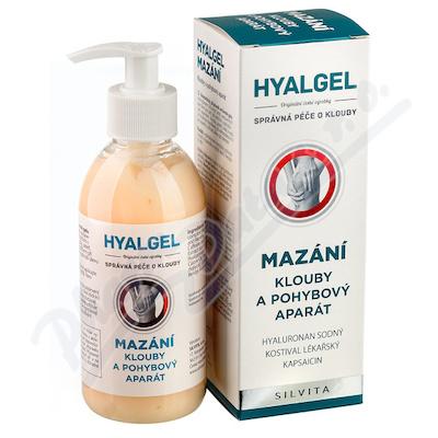 Zobrazit detail - Hyalgel Mazání na klouby 250ml