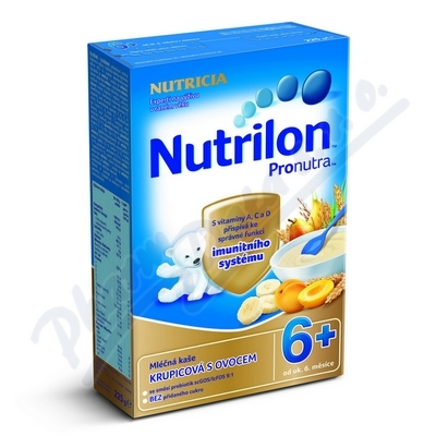 Nutrilon ka�e Pronutra ml. ovocn� 225g 6M