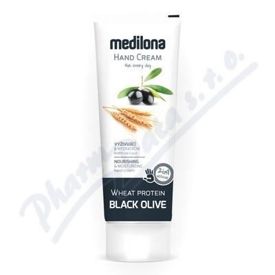 Zobrazit detail - Krém na ruce MEDILONA černá oliva-pšen. prot.  100ml