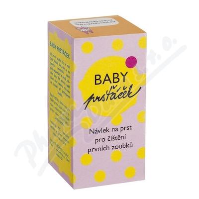 Zobrazit detail - Profimed Baby Prsťáček průhled.  zub. kartáček INF05