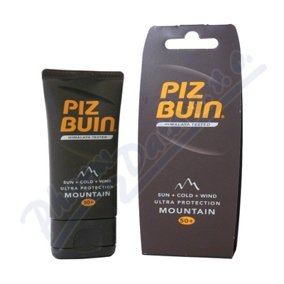 Zobrazit detail - PIZ BUIN NEW SPF50 Moutain Cream 50ml