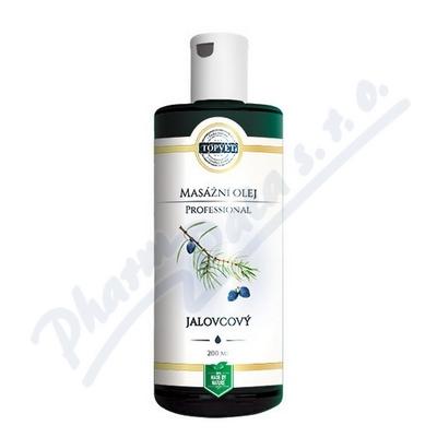 Zobrazit detail - TOPVET PROFESSIONAL Jalovcový masážní olej 200ml