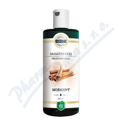 Zobrazit detail - TOPVET PROFESSIONAL Skořicový masážní olej 200ml