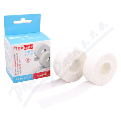 FIXAtape Classic tejpovací páska 2.5cmx10m 2ks