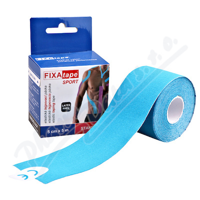 Tejp.páska FIXAtape KINESIO Standard 5cmx5m modrá