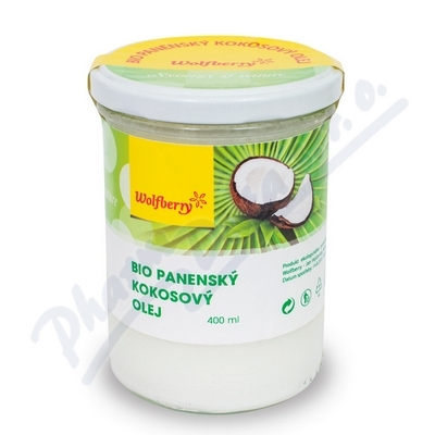 Zobrazit detail - Wolfberry Bio panenský kokosový olej 400ml