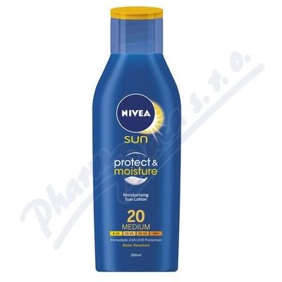 NIVEA SUN Hydratační mléko na opalování OF20 400ml