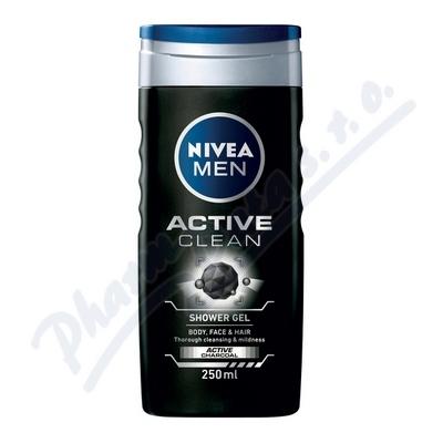 NIVEA Sprchov� gel mu�i ACTIVE CLEAN 250ml �.84045