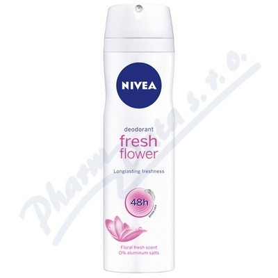 NIVEA Deo ženy FRESH FLOWER sprej 150ml č.80058