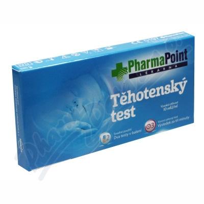 Zobrazit detail - Těhotenský test PharmaPoint 2ks