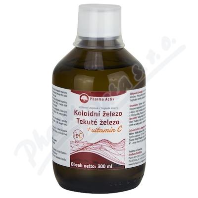 Zobrazit detail - Koloidní železo + vitamín C 300ml