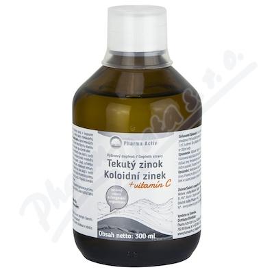 Zobrazit detail - Koloidní zinek + vitamín C 300ml