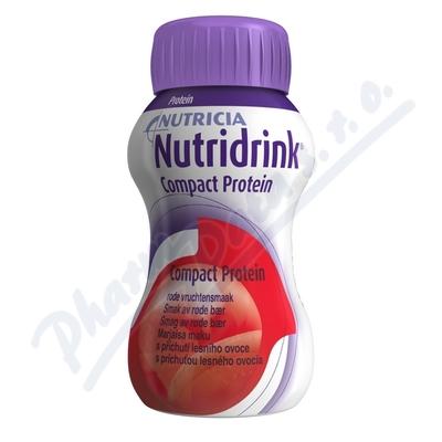 Zobrazit detail - Nutridrink Compact Protein př.  lesní ovoce 4x125ml