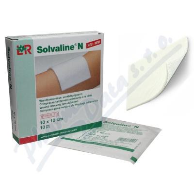 Zobrazit detail - Komprese Solvaline N spec. savá steril. 10x10cm 10ks