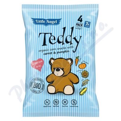 Zobrazit detail - Bezlepkový snack BIO Teddy pro děti 4x15g