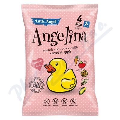 Zobrazit detail - Bezlepkový snack BIO Angelina pro děti 4x15g