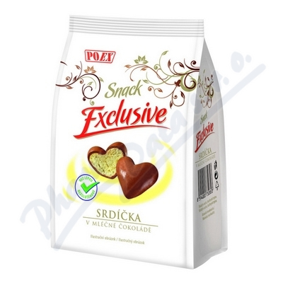 Zobrazit detail - Srdíčka v mléčné čokoládě 90g