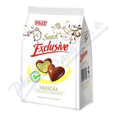 Srdíčka v mléčné čokoládě 90g