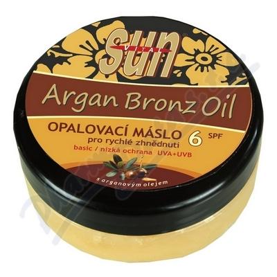SUN Bronz OPALOVACÍ MÁSLO OF6 s argan.olejem 200ml