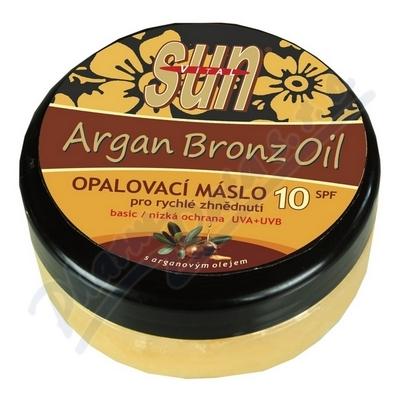 Zobrazit detail - SUN Bronz OPALOVACÍ MÁSLO OF10 s argan. olej. 200ml