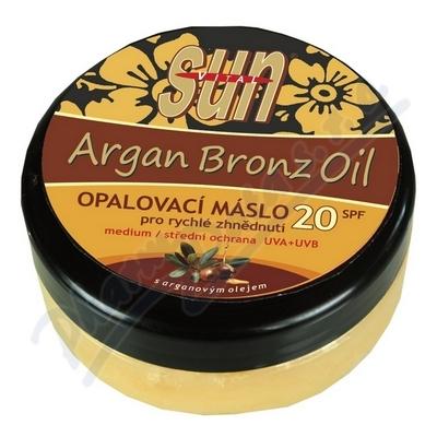 Zobrazit detail - Arganové opalovací máslo SPF20 200ml