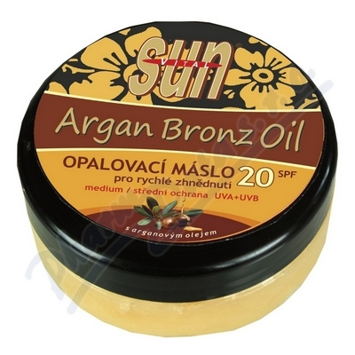 Zobrazit detail - SUN Bronz OPALOVACÍ MÁSLO OF20 s argan. olej. 200ml