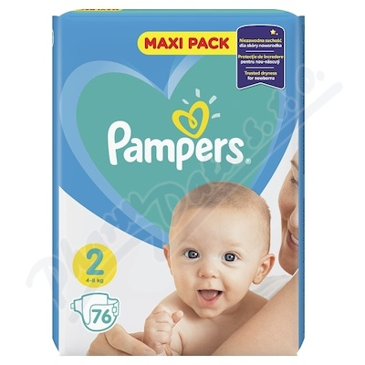 Zobrazit detail - PAMPERS New Baby 2 Mini 76ks