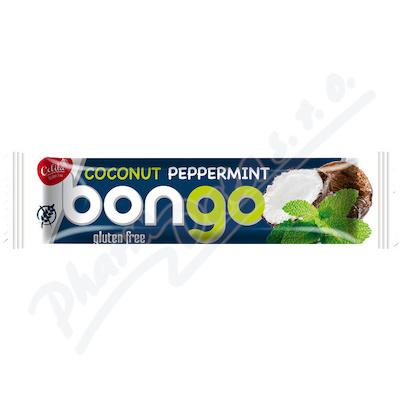 Zobrazit detail - Bongo mátová přích.  kokoso. tyčinka tmavá pol.  40g