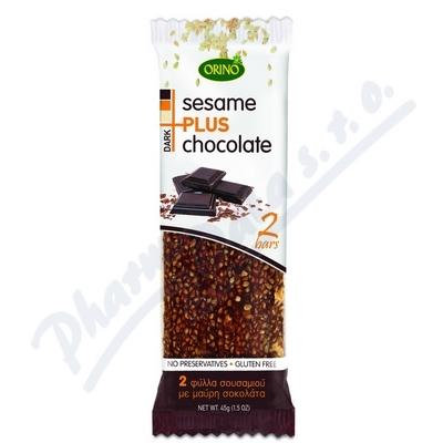 Zobrazit detail - Sesame + Chocolate 45g - sezam a čokoláda