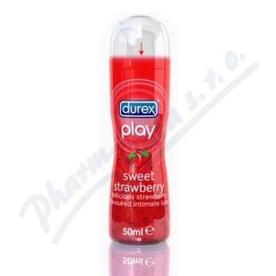 Lubrika�n� gel DUREX Play Strawberry 50 ml