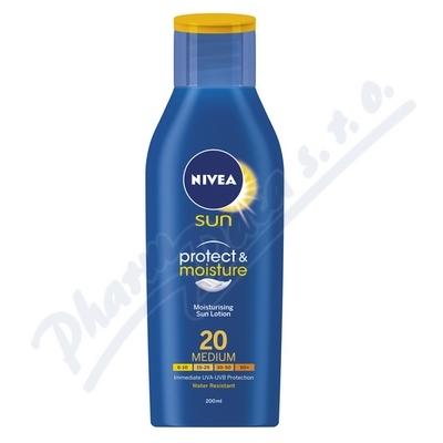 Zobrazit detail - NIVEA SUN Hydratační mléko na opalování OF20 200ml