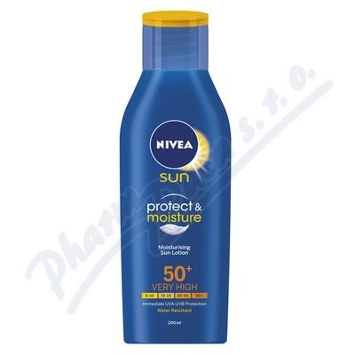 NIVEA SUN Hydratační mléko na opalování OF50 200ml
