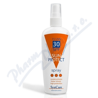 Zobrazit detail - SynCare Sun Protect Spray SPF 30 UVA15 150ml