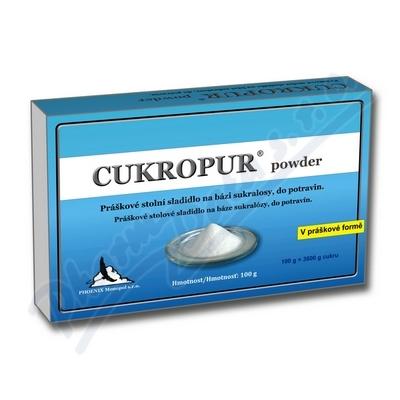 Zobrazit detail - CUKROPUR powder práškové stolní sladidlo 100g