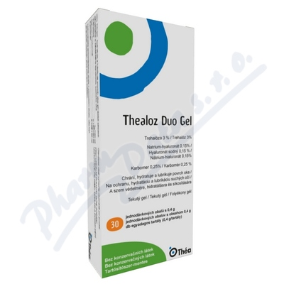 Thealoz Duo Gel 30x0.4g