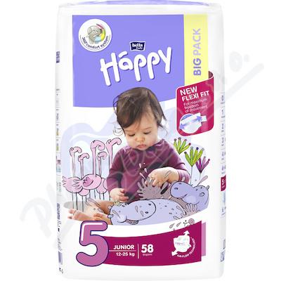 Zobrazit detail - Happy Junior dětské pleny 58ks