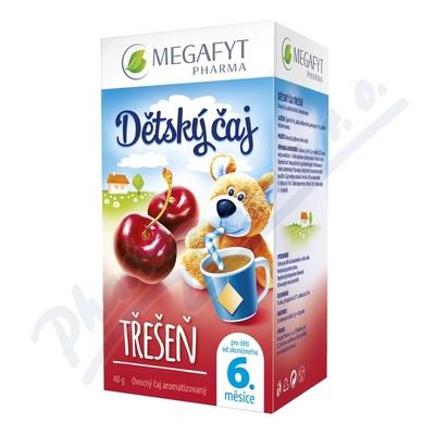 Zobrazit detail - Megafyt Dětský čaj třešeň 20x2g
