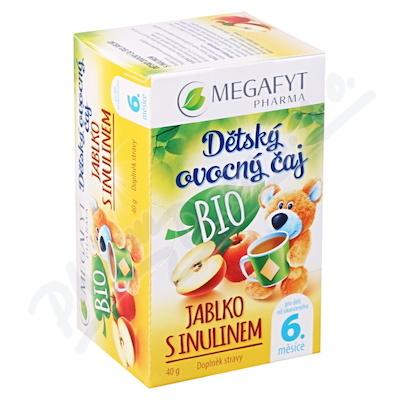 Zobrazit detail - Megafyt Dět. ovocný čaj BIO jablko s inulinem 20x2g