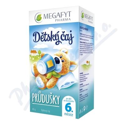 Zobrazit detail - Megafyt Dětský čaj průdušky 20x2g