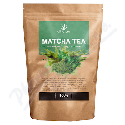Zobrazit detail - Allnature Matcha Tea Premium 100g