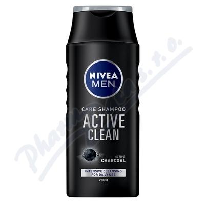 Zobrazit detail - NIVEA MEN Šampon Active Clean 250ml č. 82750