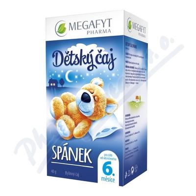 Zobrazit detail - Megafyt Dětský čaj Spánek n. s. 20x2g Novinka