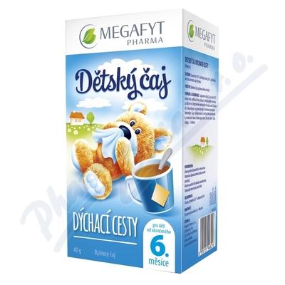 Zobrazit detail - Megafyt Dětský čaj dýchací cesty 20x2g Novinka