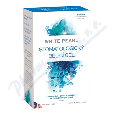 Zobrazit detail - White Pearl systém na bělení zubů 130ml