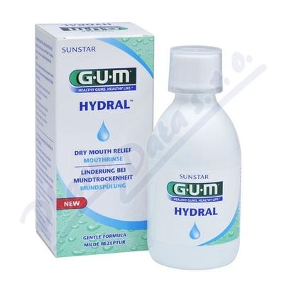 Zobrazit detail - GUM Hydral ústní výplach 300 ml