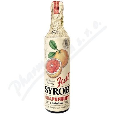 Zobrazit detail - Kitl Syrob Grapefruit s du�ninou 500ml