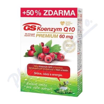 GS Koenzym Q10 60mg Premium cps.30+15