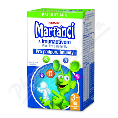 Zobrazit detail - Walmark Marťánci Imuno MIX tbl. 90 2015